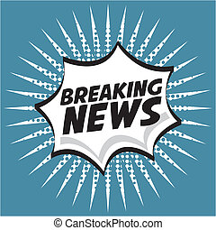 news design over blue background vector illustration