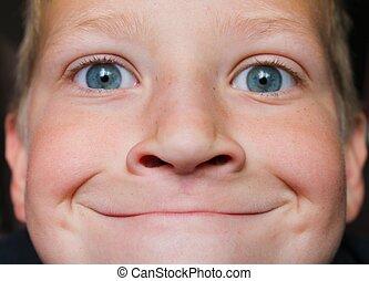 Smug Face - Child with a smug expression