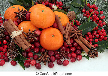 Christmas Fruit and Spice
