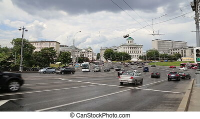 Daily traffic on the streets,Moscow - Daily traffic on the...