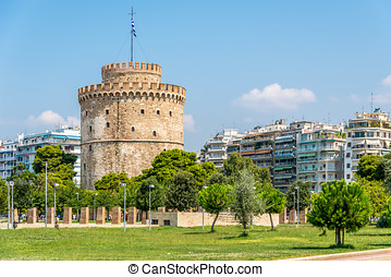 The White tower of Thessaloniki - Greece
