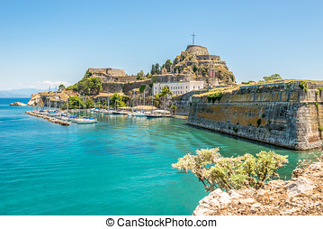 The Old Fortress of Corfu - The Old Fortress is a Venetian...