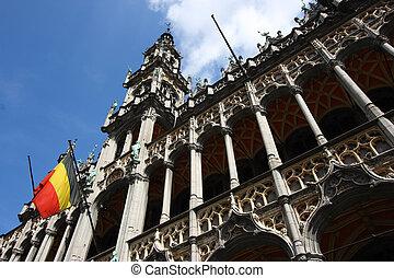 Bruxelles - Famous building: Maison du Roi (The King\'s...