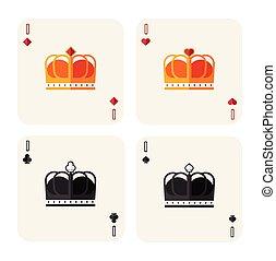 queens - vector illustration of queens