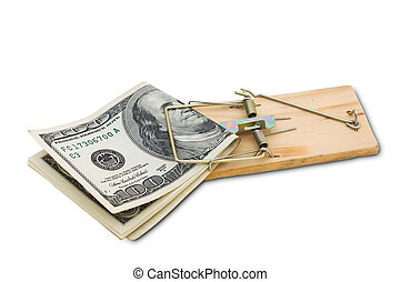 Taking Risks With Your Money - A mouse trap with one hundred...