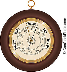 Barometer - Detailed barometer illustration