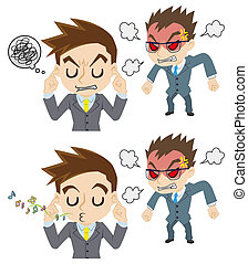 angry boss, attitude of subordinate - the angry boss,...
