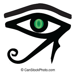 The Eye of Ra - The eye of Ra as found in Egyptian tombs
