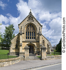 church in Chipping Campden - St Catherines church in...