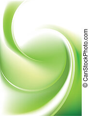 Green Twister - This Twister Vector Image was digital...