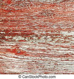 Rustic Red Barnwood Background - A background of rustic,...