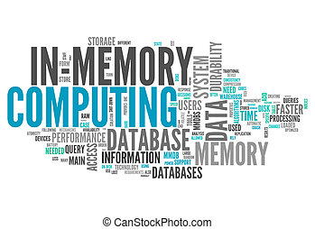 Word Cloud In-Memory Computing - Word Cloud with In-Memory...