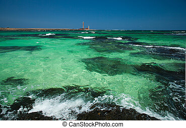 Fuerteventura, El Cotillo, lighthouse