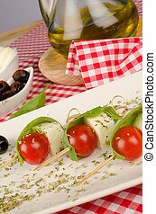 Mediterranean appetizer