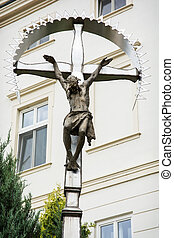 Big crucifixion of Jesus Christ - Crucifixion of Jesus...