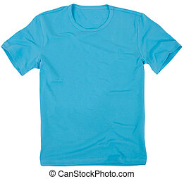 Men's t-shirt isolated on white background. - Men's t-shirt...