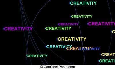 Creativity motion graphics - motivation wallpaper