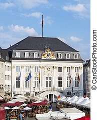 town hall Bonn - Picture of townhall in Bonn, Germany with...