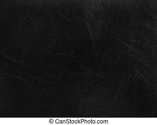black leather background - photo of the abstract black...
