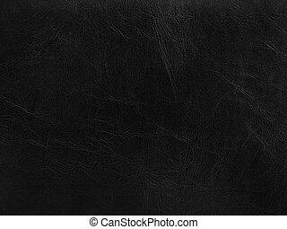 Leder, Schwarz, hintergrund