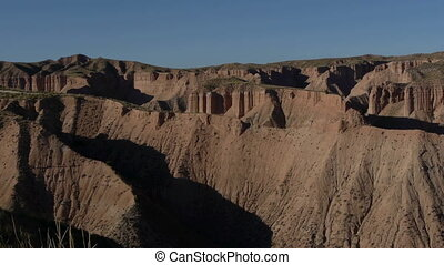 badlands in Gorafe - badlands in gorafe north of the...