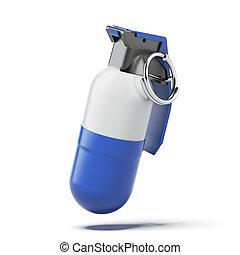 Grenade pill