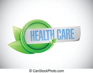 health care sign illustration design