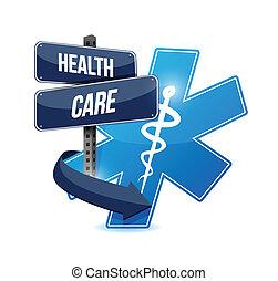 health care sign symbol illustration design