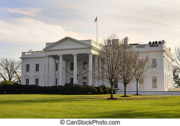 Whitehouse of American President - View of Whitehouse of...