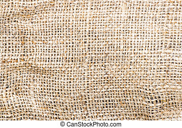 Burlap texture to use as background