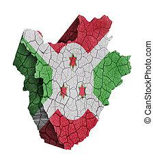 Map of Burundi