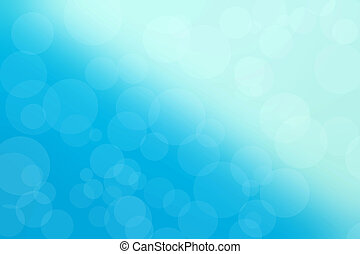 bokeh blue light background