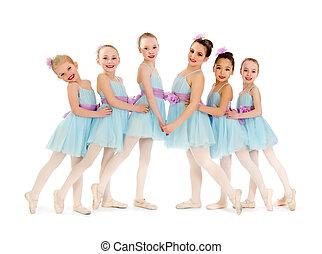 Junior Petite Ballet Class of Girls - Young Class of...