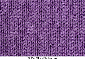 knitting - the background of knitted cloths closeup