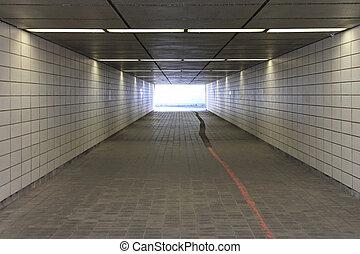 Pedestrian underpass