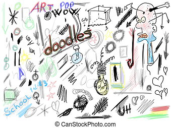 doodles design elements