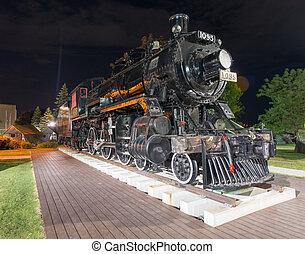 Spirit of Sir John Locomotive, Kingston, ON - An old...