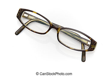 vintage tortoise shell eyeglasses - A pair of woman's...