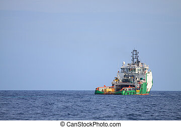Crew and Supply Vessel offshore or Supply Boat