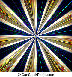 Zoom burst background - Radial zoom burst of energy,...