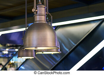 Pendant lamp interior decoration