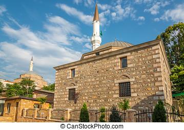 Isa Bey and Mustafa Pasha mosque in Skopje