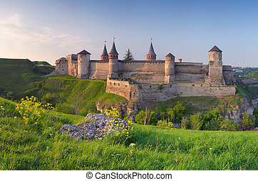 Old fortress on the hill - Beautiful old castle on the hill...