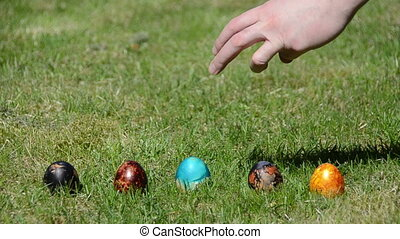 Easter family eggs game