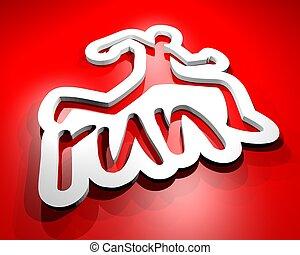 Run card - Creative design fo run card