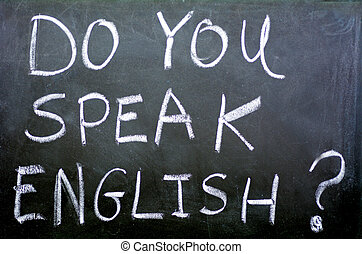 Do you speak english - Do you speak english Handwritten with...