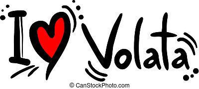 Volata love - Creative design fo volata love