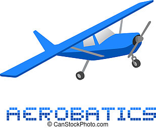 Plane acrobatics - Creative design of plane acrobatics