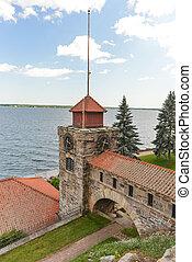 SInger Castle, Dark Island, New York - Singer Castle located...