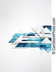 Abstract hi-tech vector background - Abstract hi-tech modern...